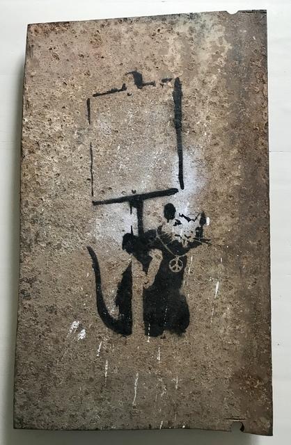 "Banksy, '""Anarchy Rat / Peace Rat""', 2002 / 2003, MultiplesInc Projects"