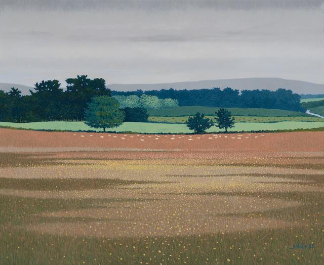 , 'Dordogne Grazing,' 1993, Mac-Gryder Gallery