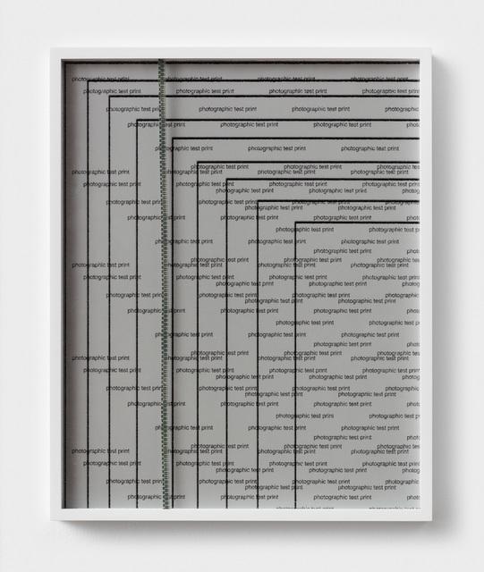 , 'Zip and Test,' 2018, Rachel Uffner Gallery