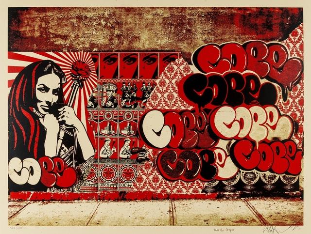 Shepard Fairey, 'Obey x Cope2 x Cooperprint', 2011, Forum Auctions