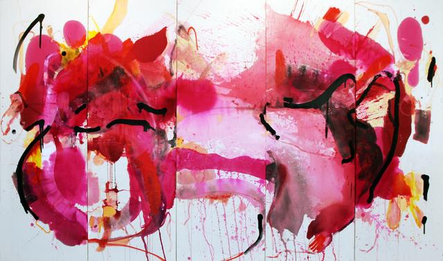 Yassine Mekhnache, 'Untitled', 2011, Painting, Mixed media on canvas, David Bloch Gallery