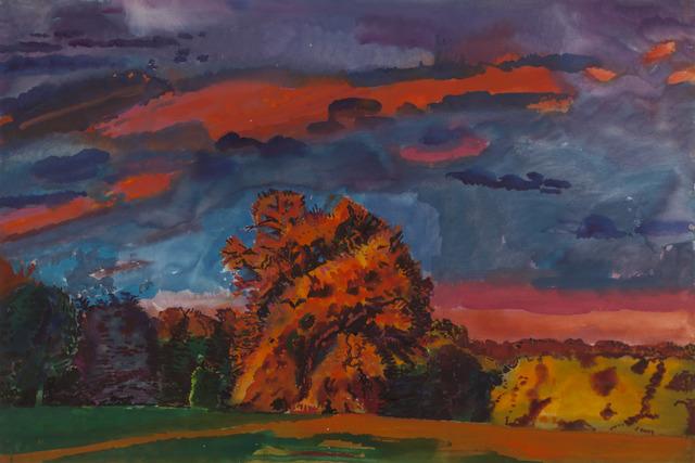 , 'Large Sky II: GOLD,' 2000, New York Studio School