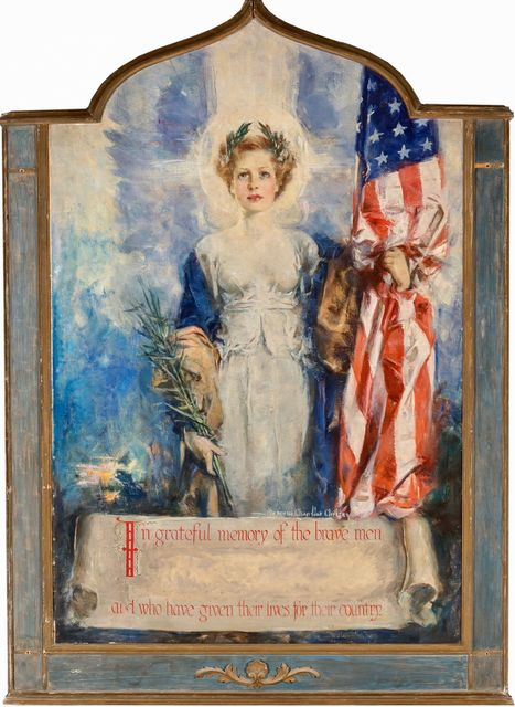 Howard Chandler Christy, 'In Grateful Memory of the Brave Men Who Have Given Lives for Their Country', 20th Century, The Illustrated Gallery