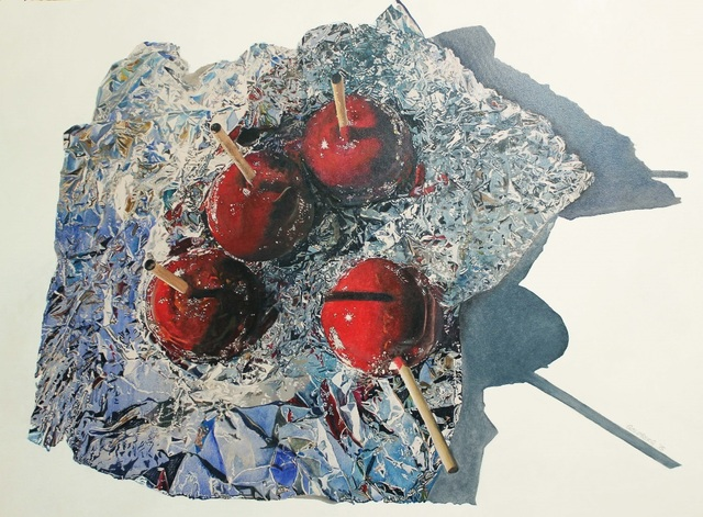 , 'Candy Apples on Tin Foil,' 2015, Winsor Gallery
