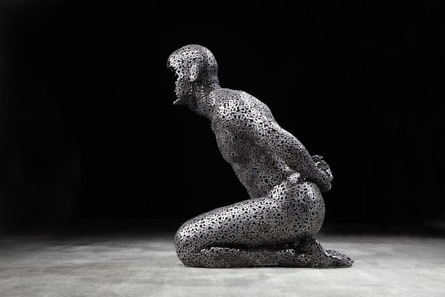 Seo Young-deok, 'Anguish 295', 2018, Sculpture, Stainless chain, Liquid Art System