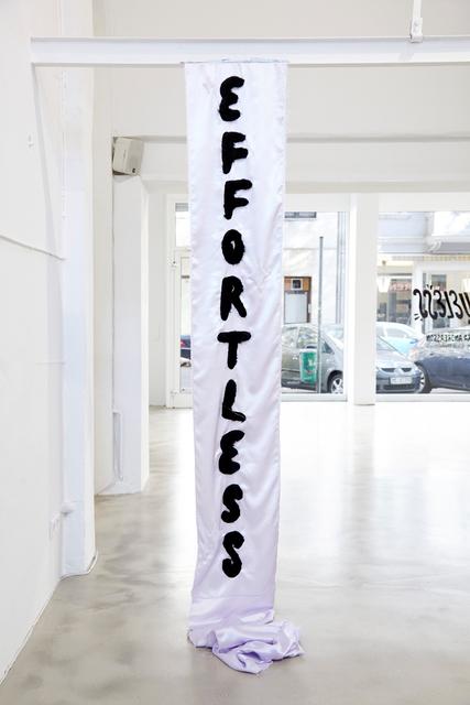 , 'Effortless,' 2016, Ninasagt