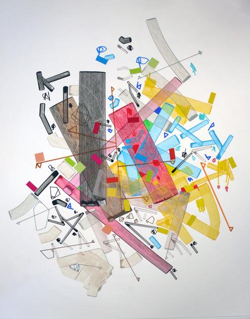 , 'Aacetabuulan Deese,' 2016, Paraphé