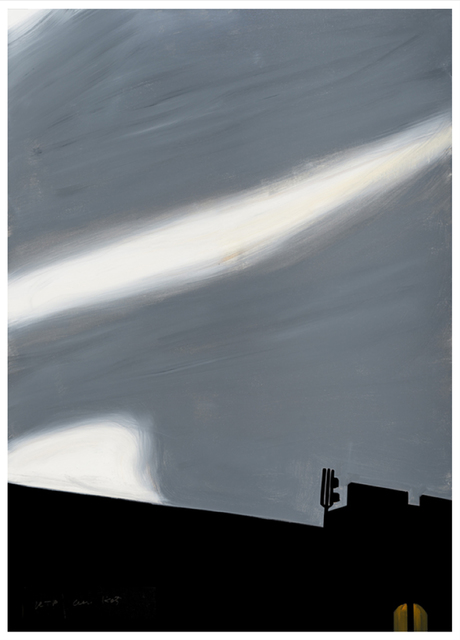 Alex Katz, 'Cityscape', 2016, Meyerovich Gallery