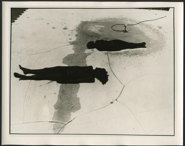 , 'Black Sun Picture # 4,' 1976, ROSEGALLERY