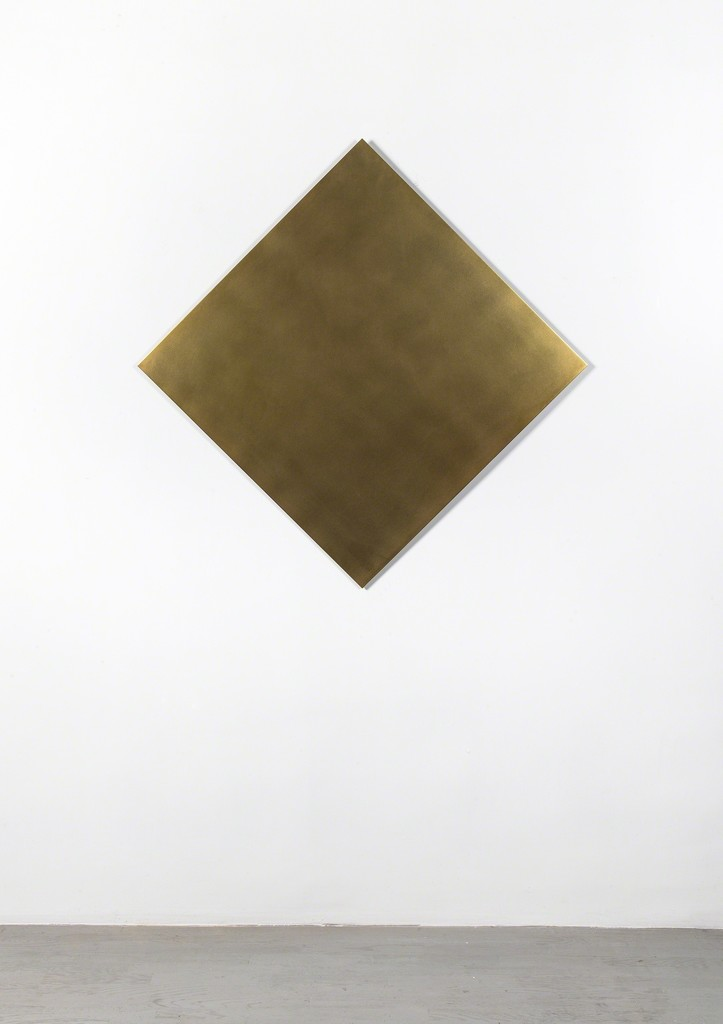 Ann Veronica Janssens, 'Untitled  (golden square 45° turned),' 2012, Alfonso Artiaco