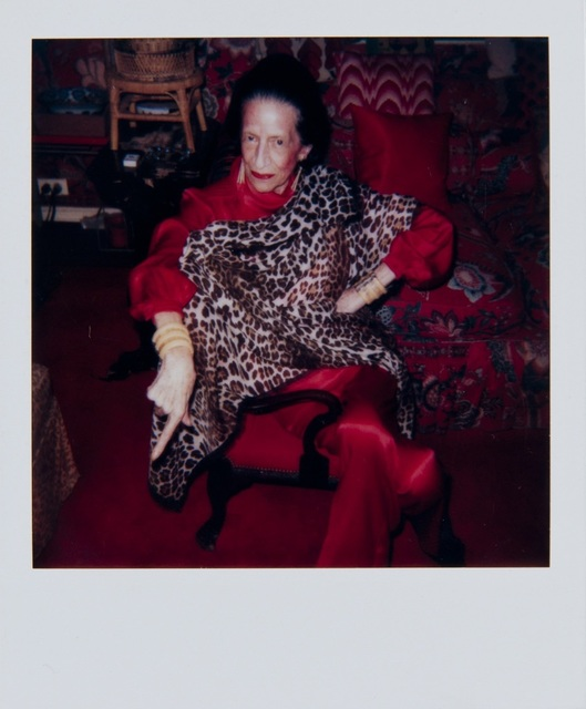 , 'Andy Warhol, Polaroid Portrait of Diana Vreeland, 1983-4,' ca. 1983-4, Hedges Projects