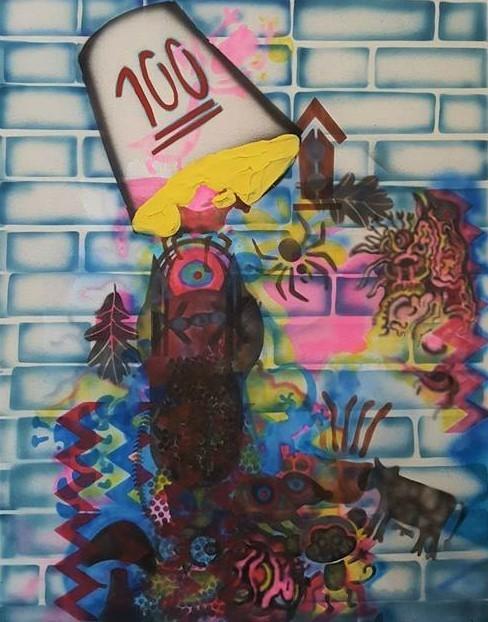 , '100,' 2016-2017, Ro2 Art