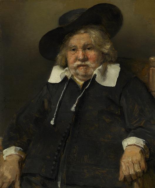 , 'Portrait of an Elderly Man,' 1667, The National Gallery, London