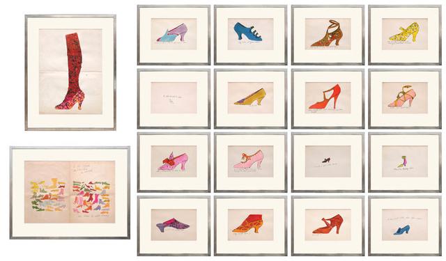 Andy Warhol, 'À La Recherche [sic] du Shoe Perdu.', 1955, Shapero Modern