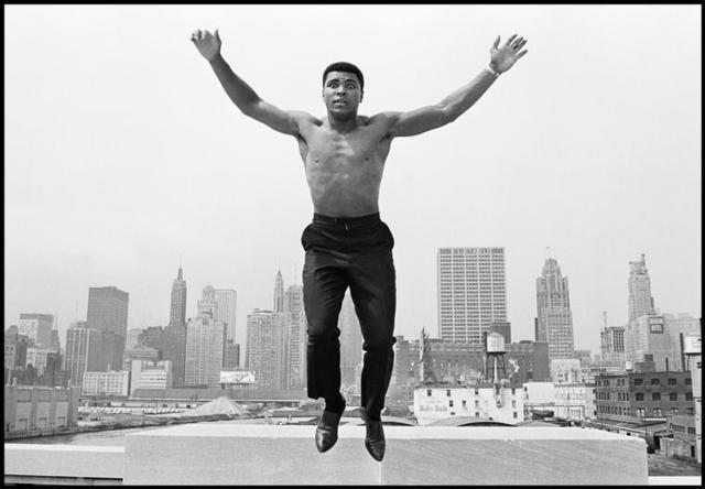 , 'Ali Jumping ,' , Milk Gallery