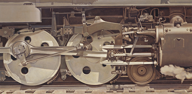 , 'Rolling Power,' 1939, de Young Museum
