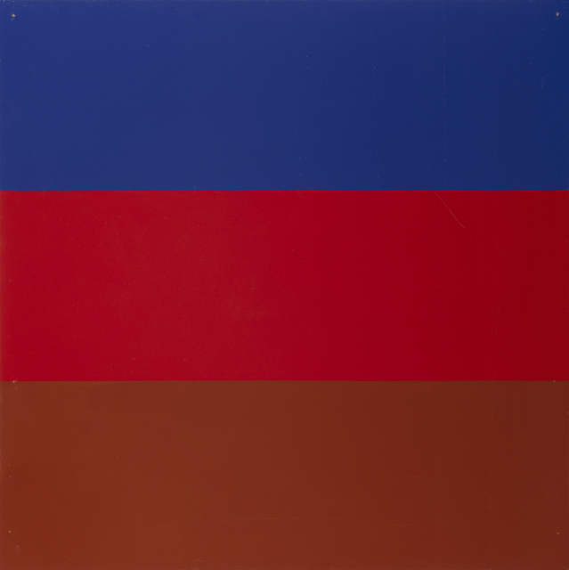 , 'Untitled / Series with red and blue as recurring colours,' 1965, Galleri Bo Bjerggaard