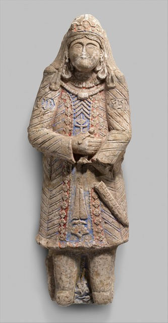 Unknown Artist, 'Standing Figure with Jeweled Headdress', 12th–early 13th century, The Metropolitan Museum of Art