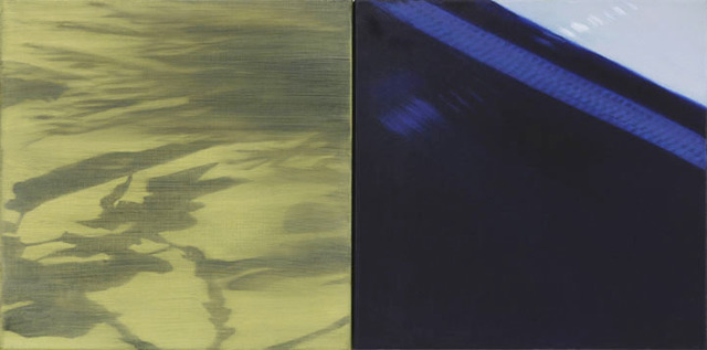 , 'Shadows and Reflections VI (diptych) / oil on canvas ,' 2015, Andra Norris Gallery