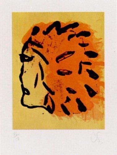 Claes Oldenburg, 'Injun Foster', 1973, Print, Silkscreen, Kunzt Gallery