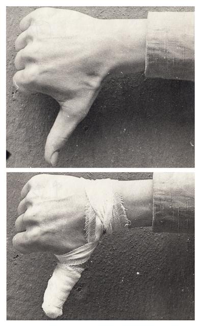 , 'Art Gestures,' 1976, SAGE Paris