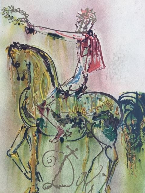 Salvador Dalí, 'Le Chevalier Romain', 1983, ByNewArt