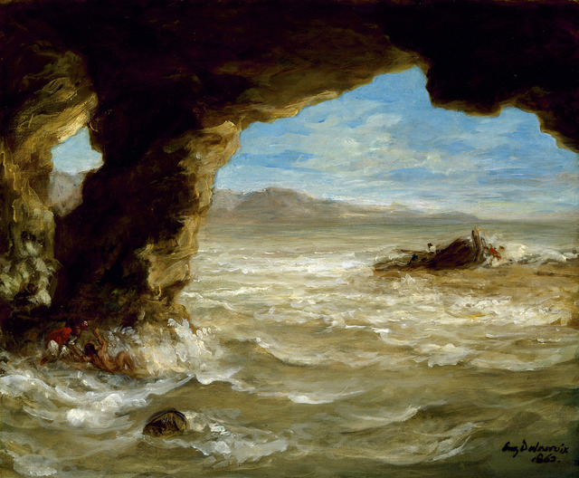 , 'Shipwreck off a Coast,' 1862, The National Gallery, London