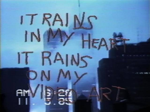 , 'SoHo/SoAP Rain Damage,' 1985, The Current Museum