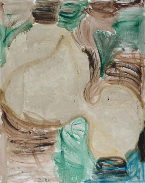 , 'Brown Brushwork,' 2016, Hauser & Wirth