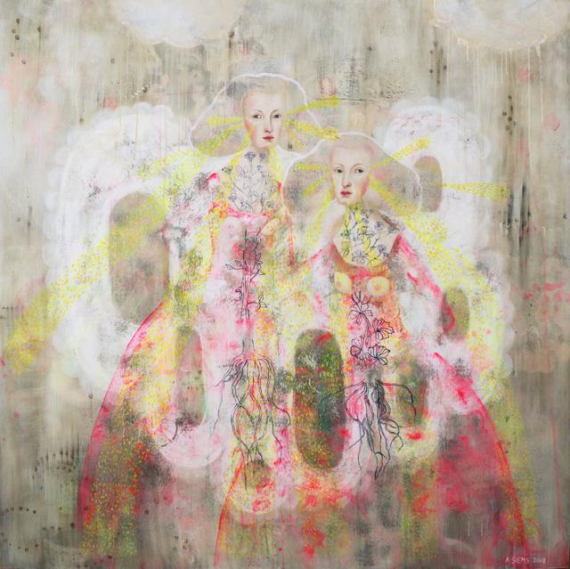 , 'Sister Rays ,' 2018, David Lusk Gallery