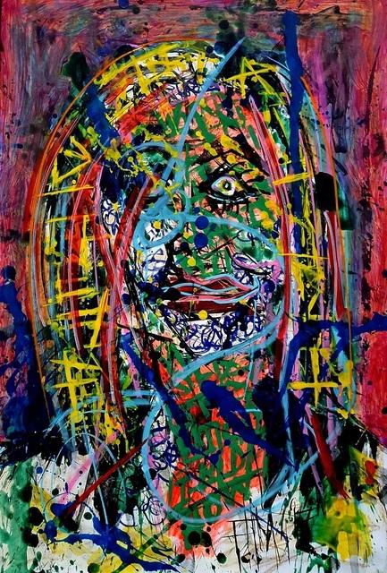 Franck de las Mercedes, 'Noelia ', 2017, Painting, Acrylic on canvas, The Contemporary Art Modern Project