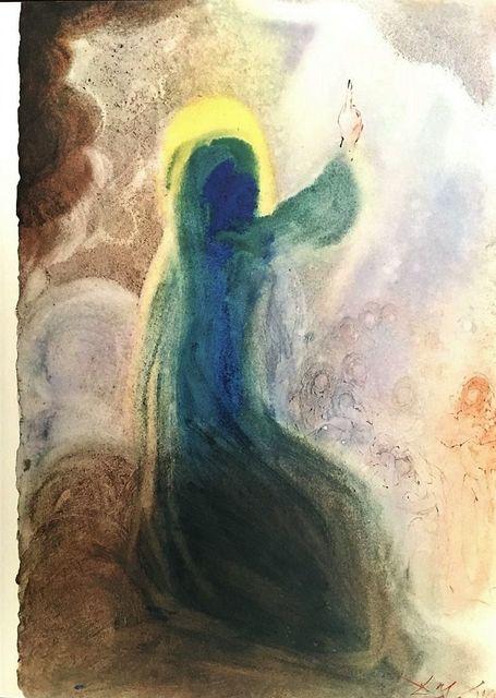 """Salvador Dalí, 'Beati pauperes...beati mites...beati - From """"Biblia Sacra""""', 1964, Wallector"""
