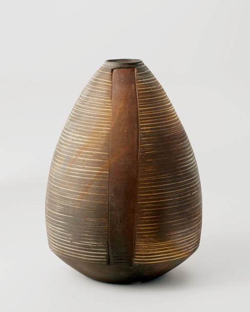 , 'Ovoid, Contemporary Vase ,' La Borne, France, 2010, Maison Gerard