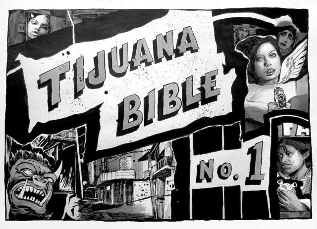 , 'Tijuana Bible,' 2018, Pierogi