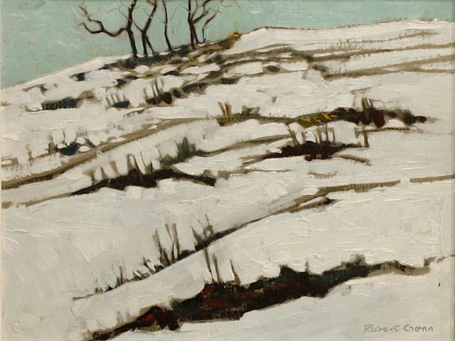 Robert Genn, 'January', Painting, Oil on Board, Madrona Gallery