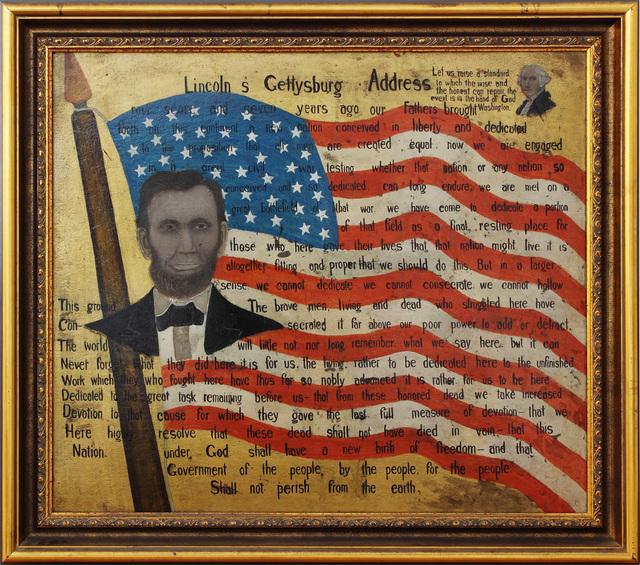 , 'Lincoln's Gettysburg Address,' , Alexandre Gallery