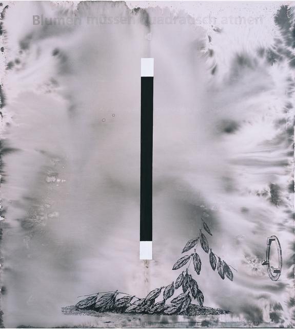 Hans Peter Adamski, 'Blumen müssen quadratisch atmen ', 2008, Galerie Brigitte Schenk