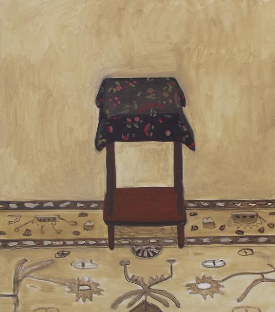 , 'Black Floral,' 2016, Tayloe Piggott Gallery
