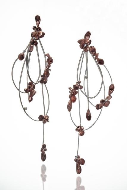 , 'Rebirth II Earrings,' 2018, Mobilia Gallery