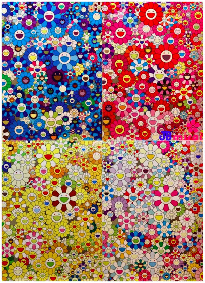 Takashi Murakami, 'An Homage Set C', 2012, Print, Offset lithograph, David Benrimon Fine Art