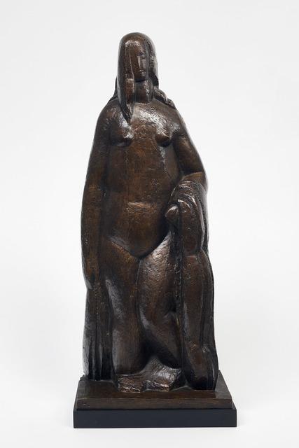 , 'Femme à la draperie,' 1928, DICKINSON