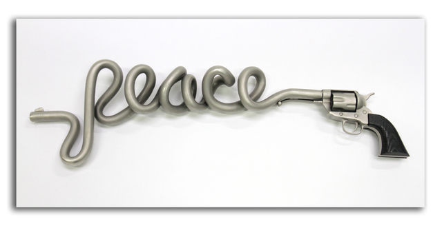 , 'Peace Is A Dirty Word,' 2014, StolenSpace Gallery