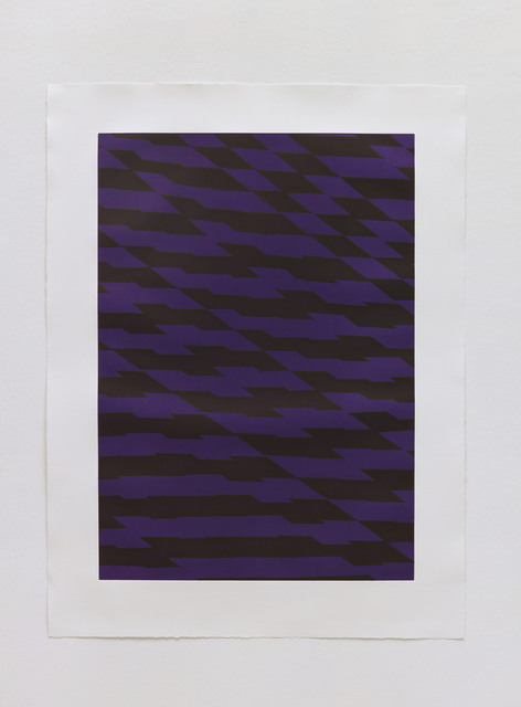 , 'Blackfriars Purple,' 2012, STPI