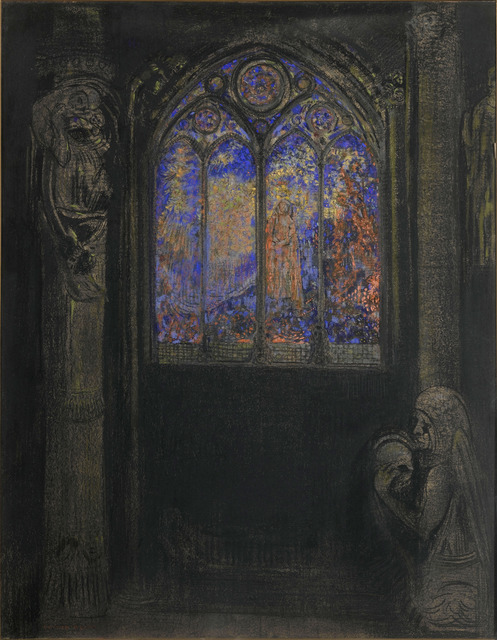 , 'Temple vitrail (Church Window),' ca. 1900, Fondation Beyeler