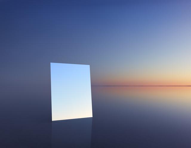 , 'Mirror 13,' 2017, Hamiltons Gallery