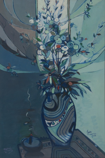 , 'Flowers 1,' 1991, Hafez Gallery