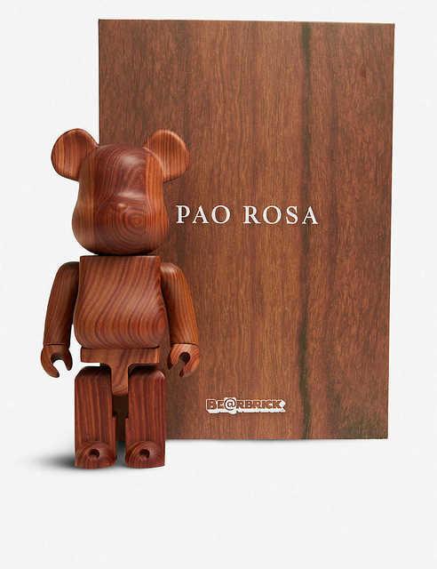 BE@RBRICK, 'BE@RBRICK KARIMOKU PAO ROSA ROSEWOOD EFFECT 400% FIGURE', 2019, Arts Limited
