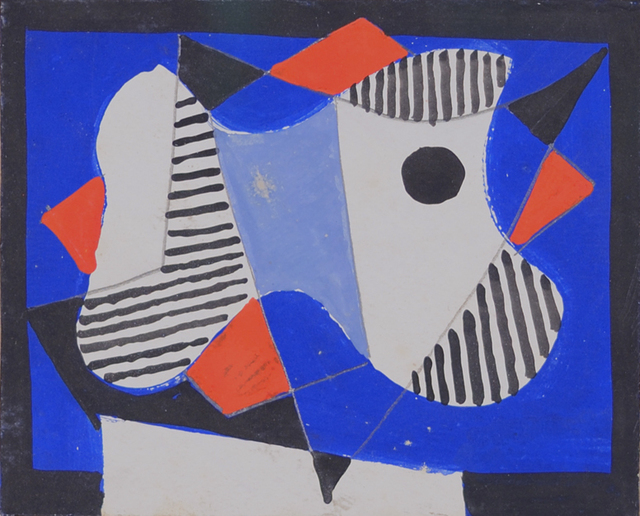 , 'Abstraction,' 1938, Caldwell Gallery Hudson