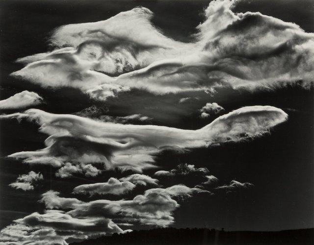 Brett Weston, 'Clouds, Owen Valley', 1968, Heritage Auctions