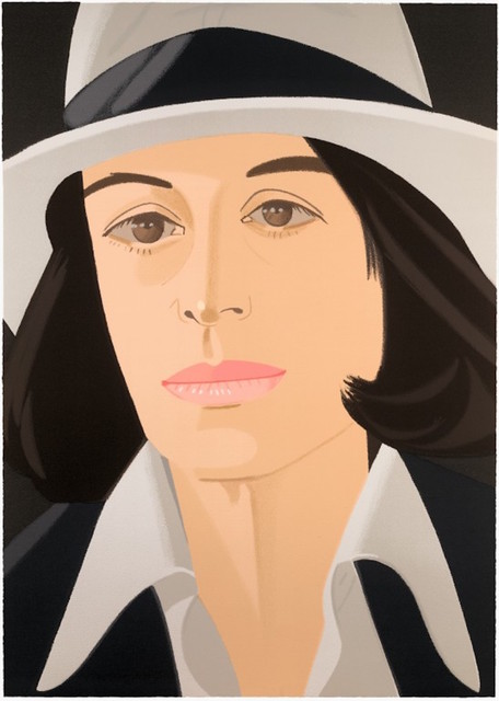 Alex Katz, 'White Hat (Alex and Ada Suite)', 1990, Gregg Shienbaum Fine Art